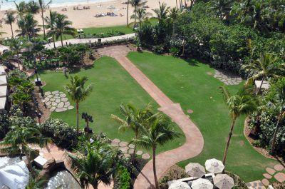 Aerial View of Makaloa Garden at Aulani