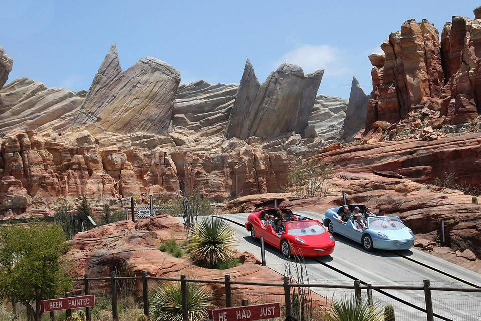 Radiator Springs Racers, Disney California Adventure Cars Land
