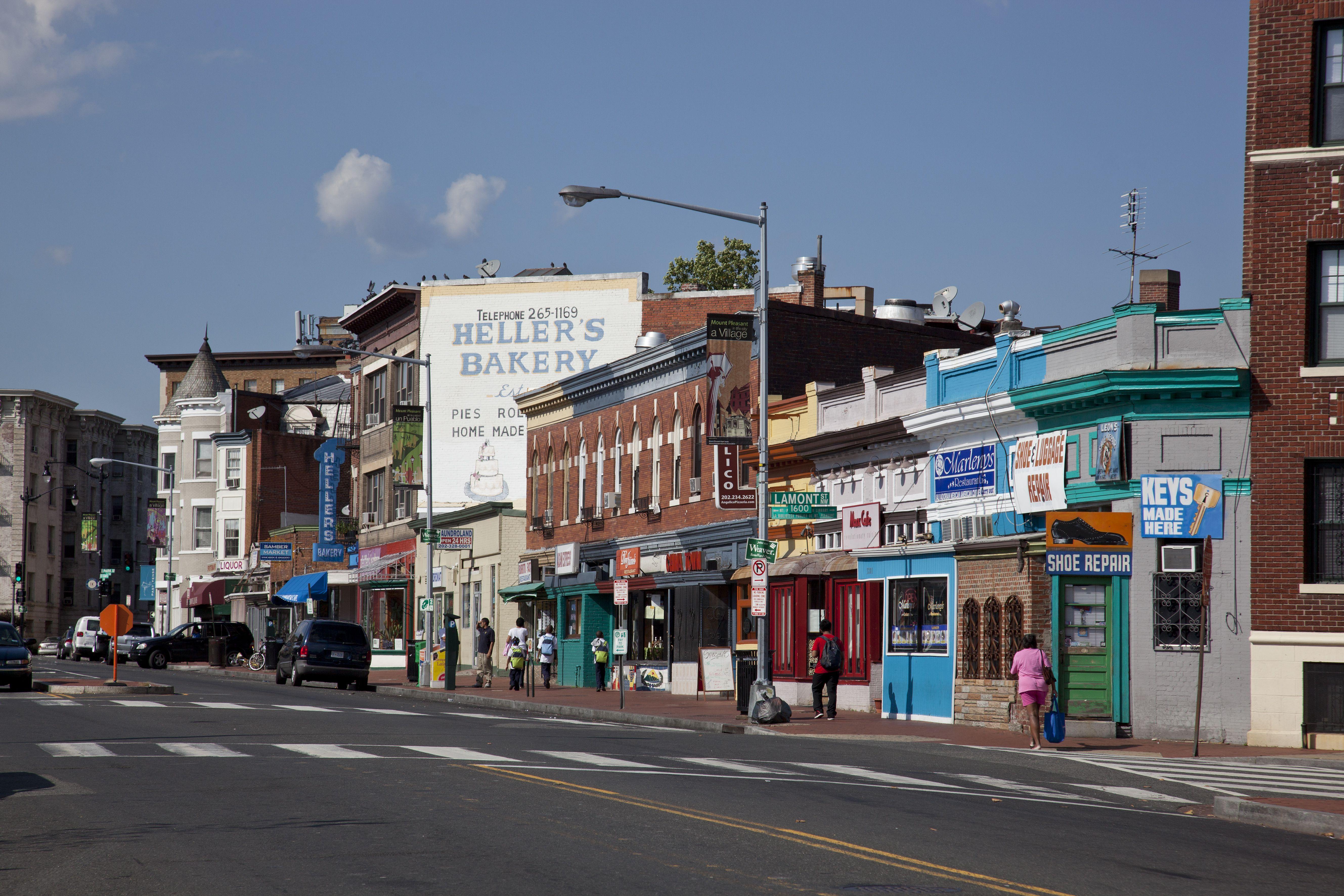 Barrio de Mount Pleasant