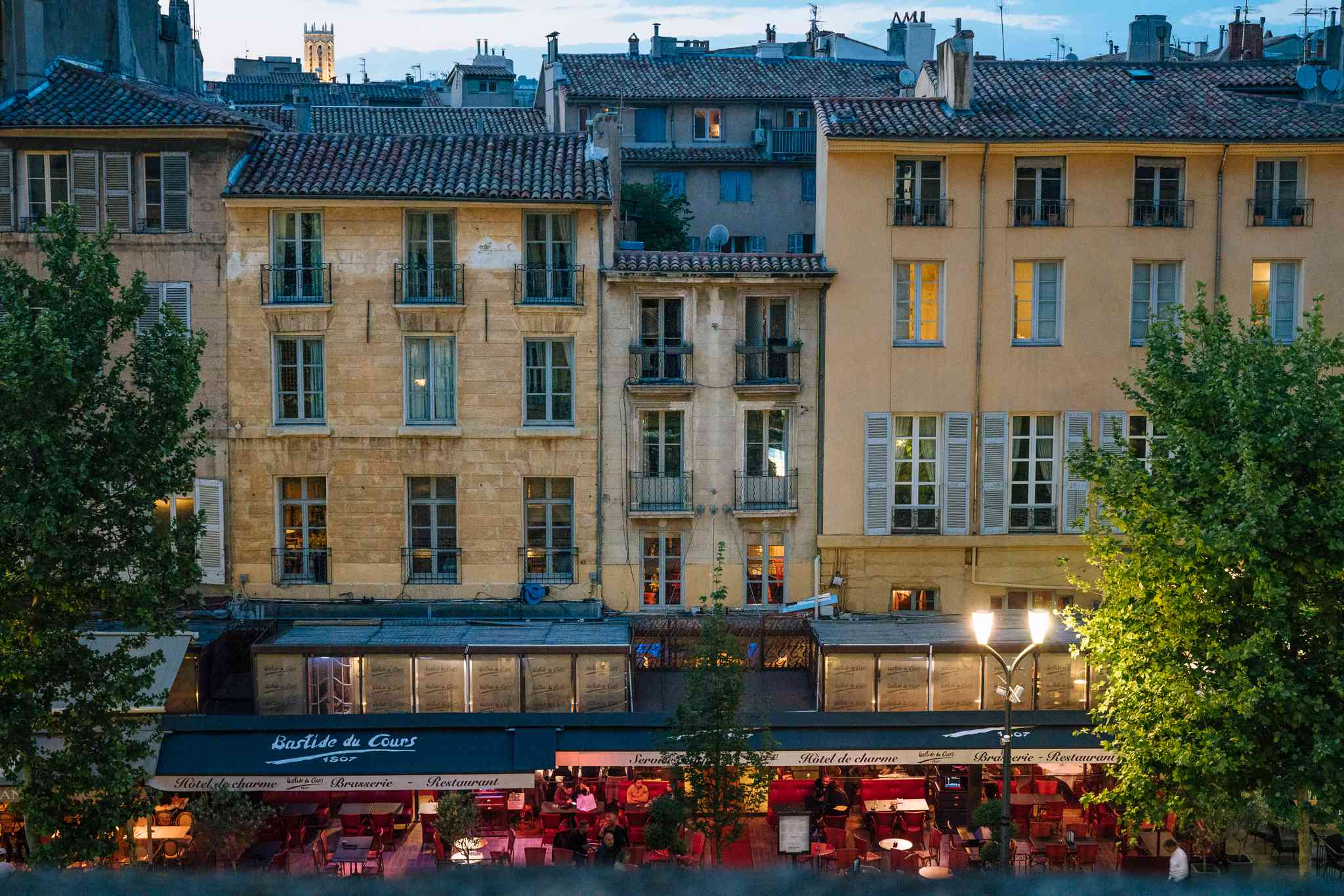 Old Town in Aix en Provence