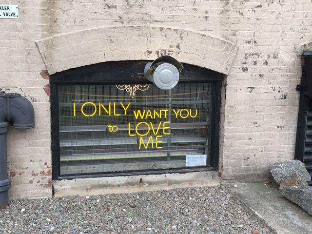 Outside a Gowanus Art Studio