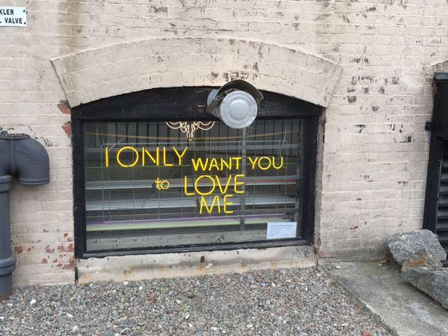 Outside a Gowanus Art Studio