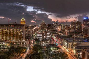 San Antonio before the Storm