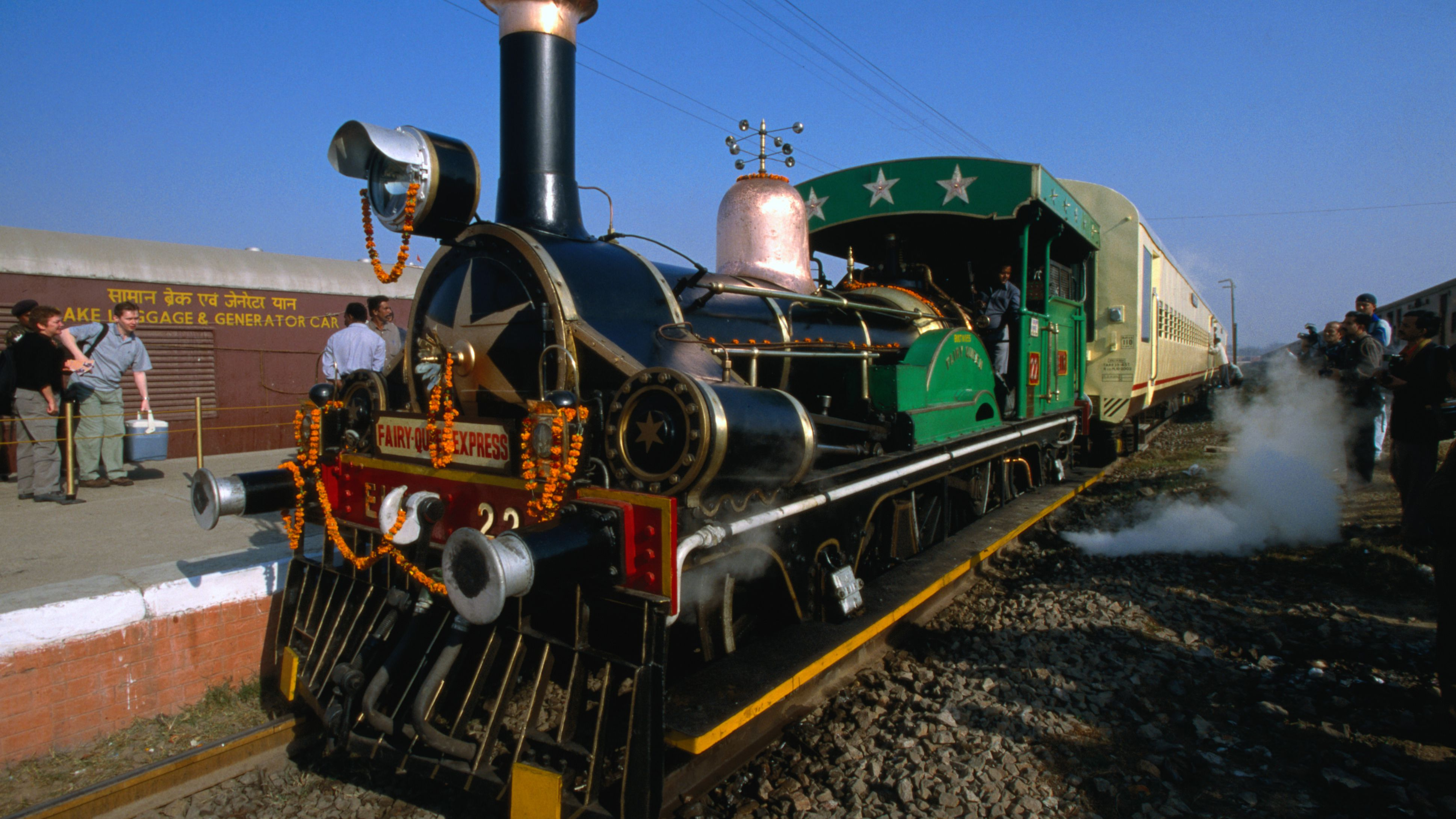 India's Steam Express (Fairy Queen) Train: Travel Guide