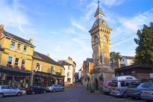 Hay-on-Wye clock tower.