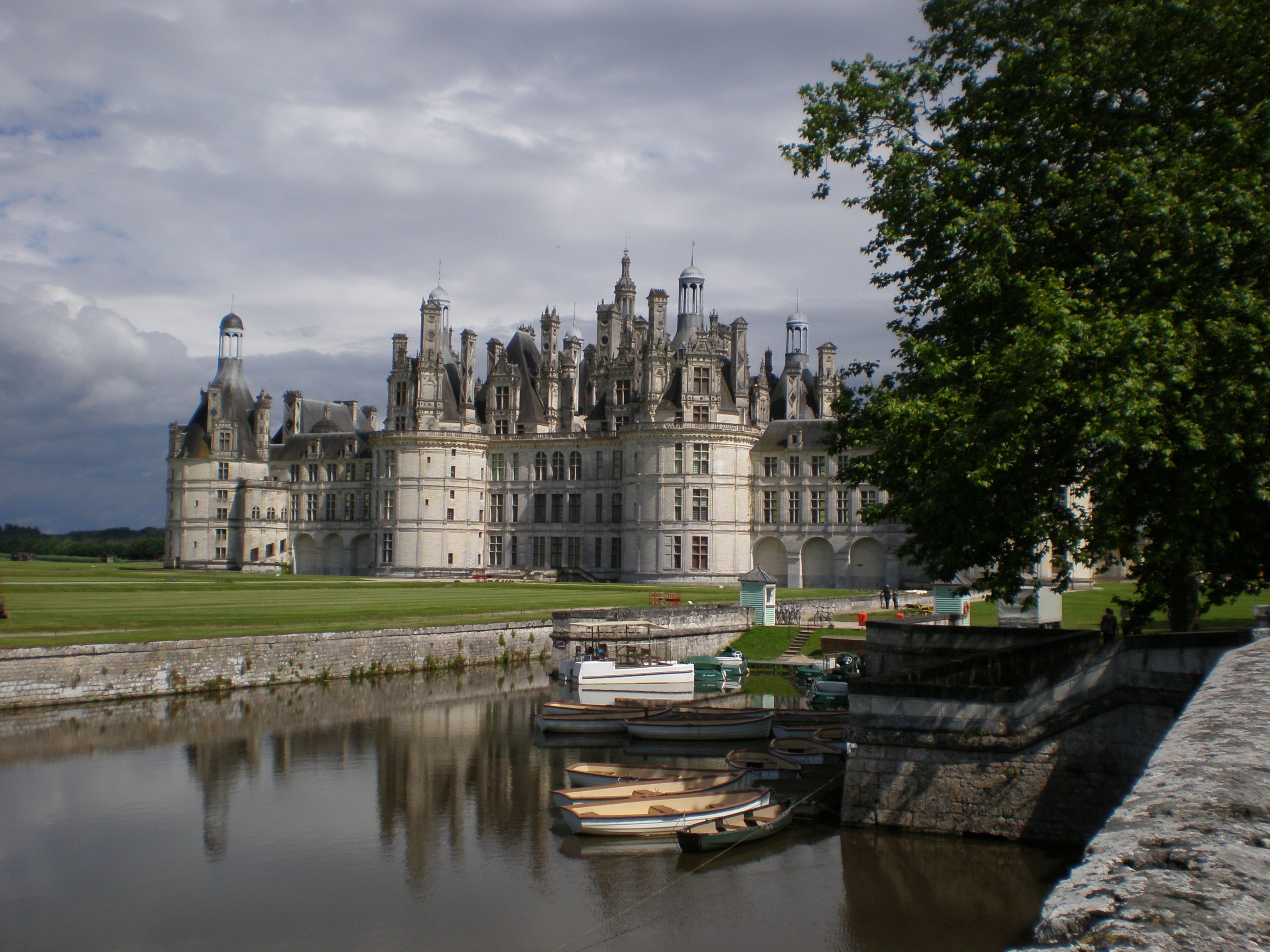 The Chateau of Chambord in the Loire Valley