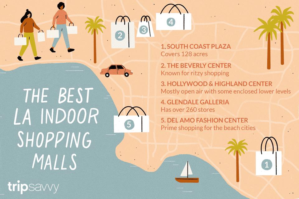 Top 6 Los Angeles Indoor Shopping Malls