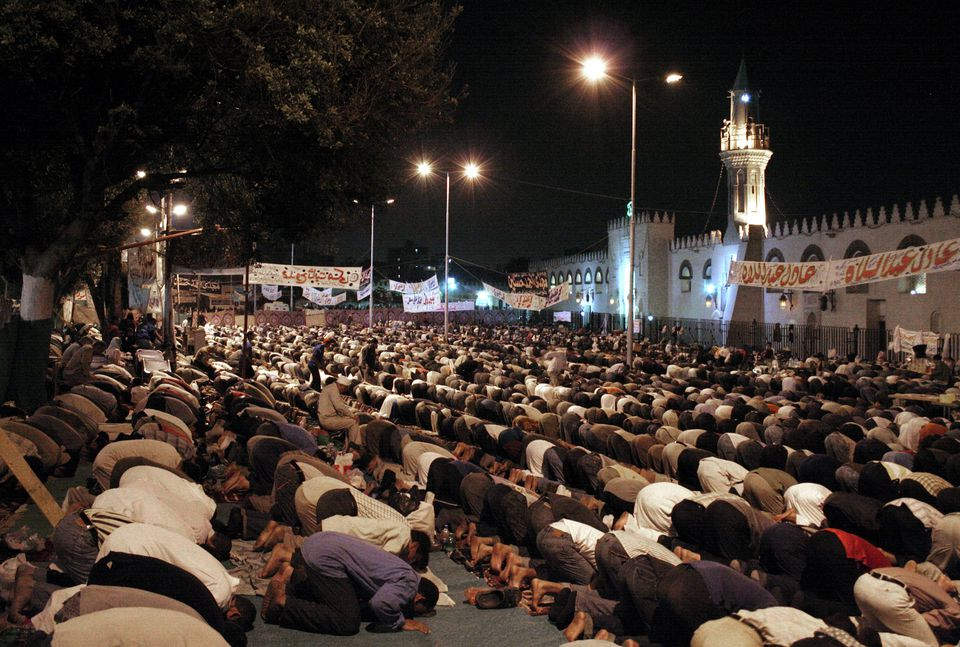 Ramadan Prayers at Amr Ibn Al As Mosque, Cairo