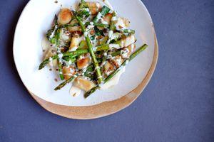 Asparagus and potatoes