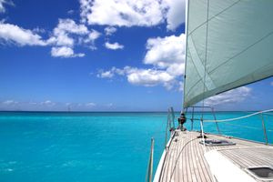 Sailing upon the Caribbean Sea