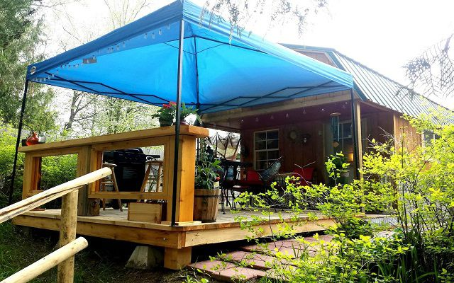 Bunkhouse Cabin on the Kootenay River
