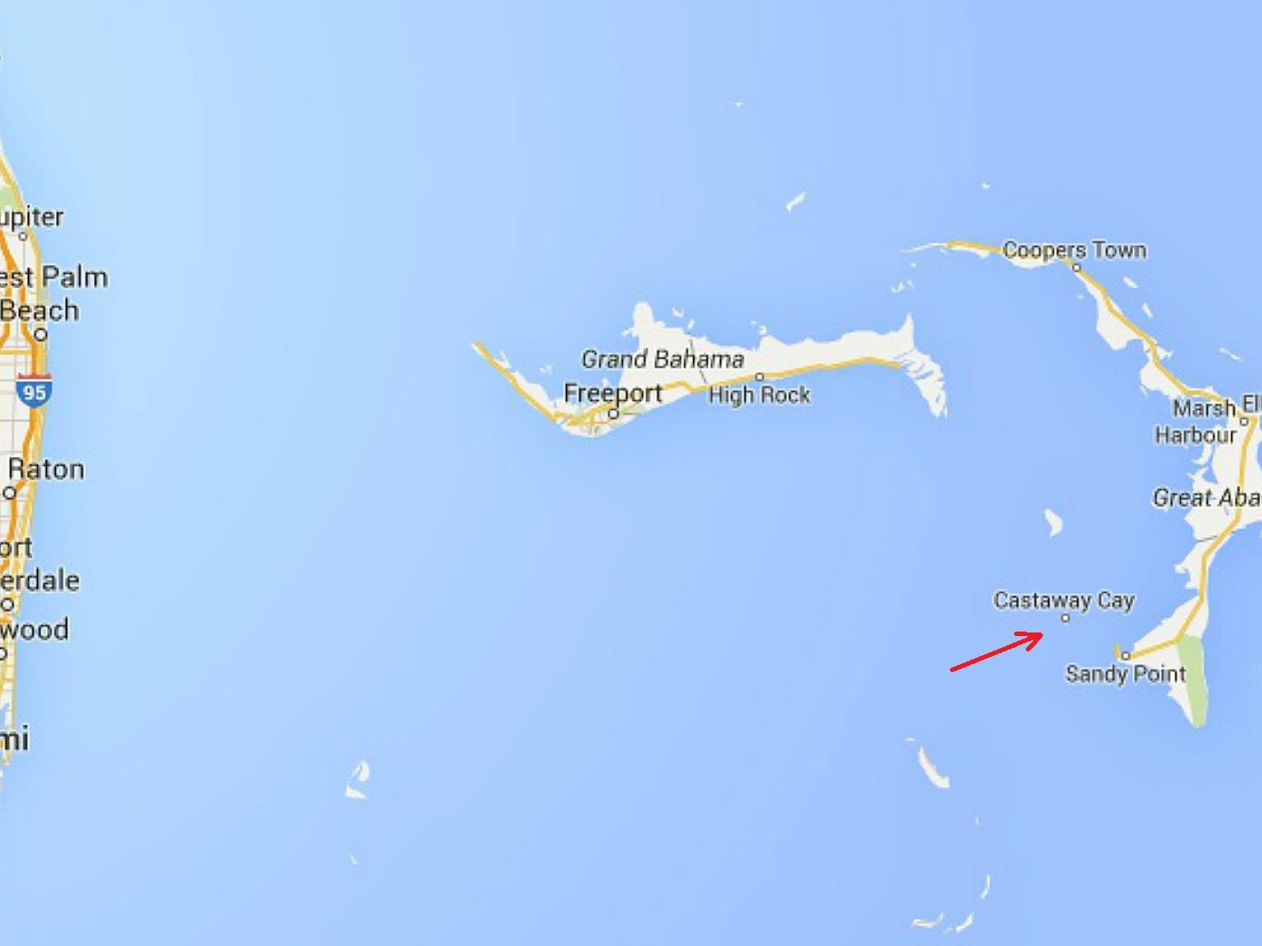 Maps And Information For Disney S Castaway Cay
