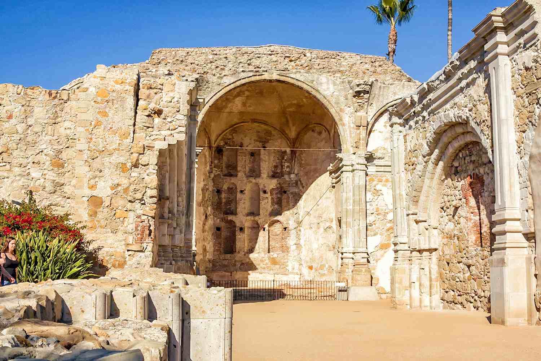 Ruins of the Great Church at Mission San Juan Capistrano