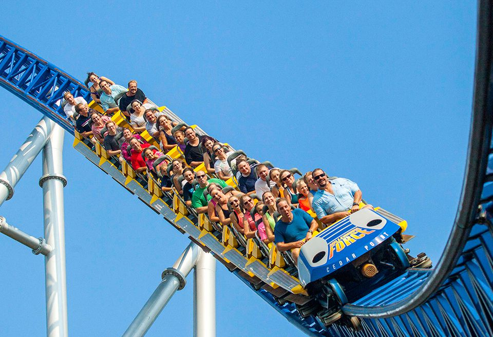 Millennium Force coaster