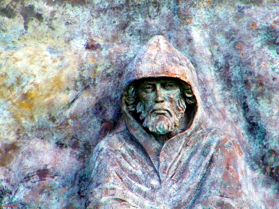 Saint Brendan - as portrayed at the Knock Shrine