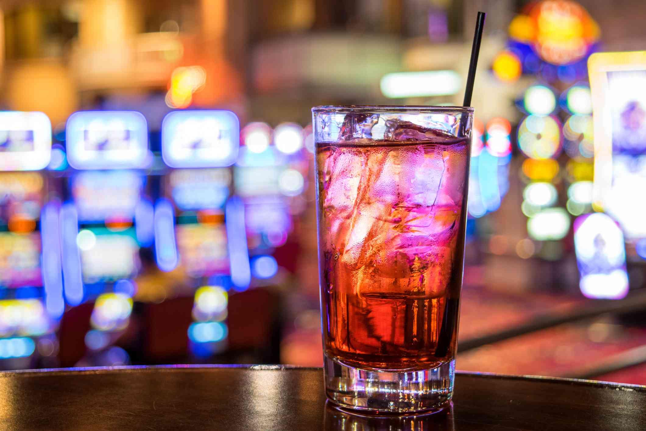 Cocktail in Vegas Bar