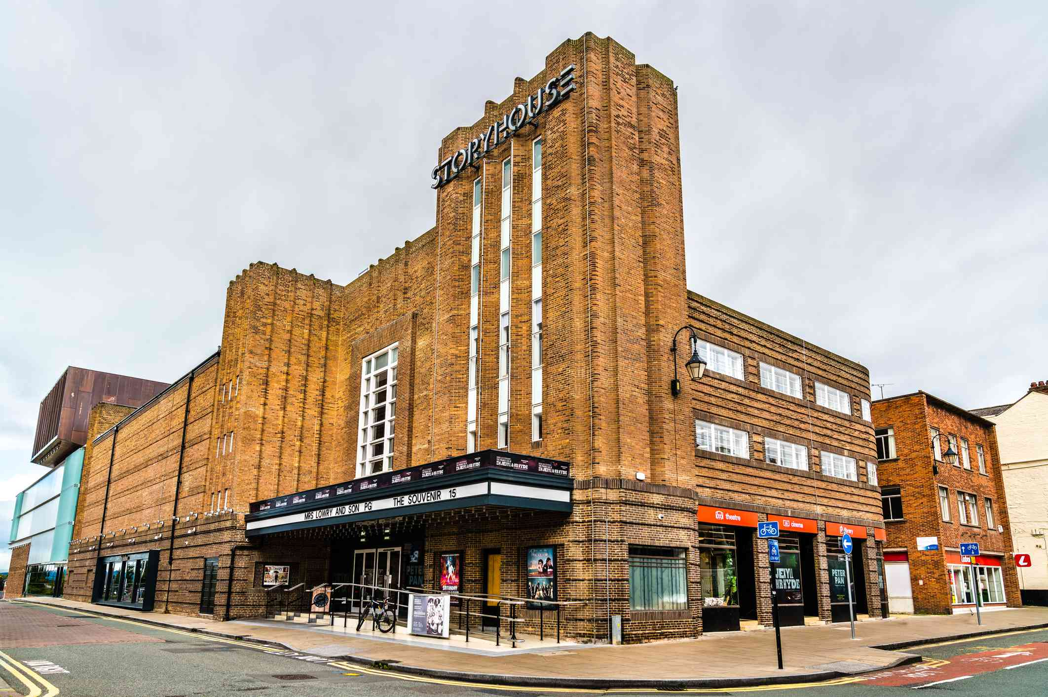 Storyhouse, a cultural building in Chester, England