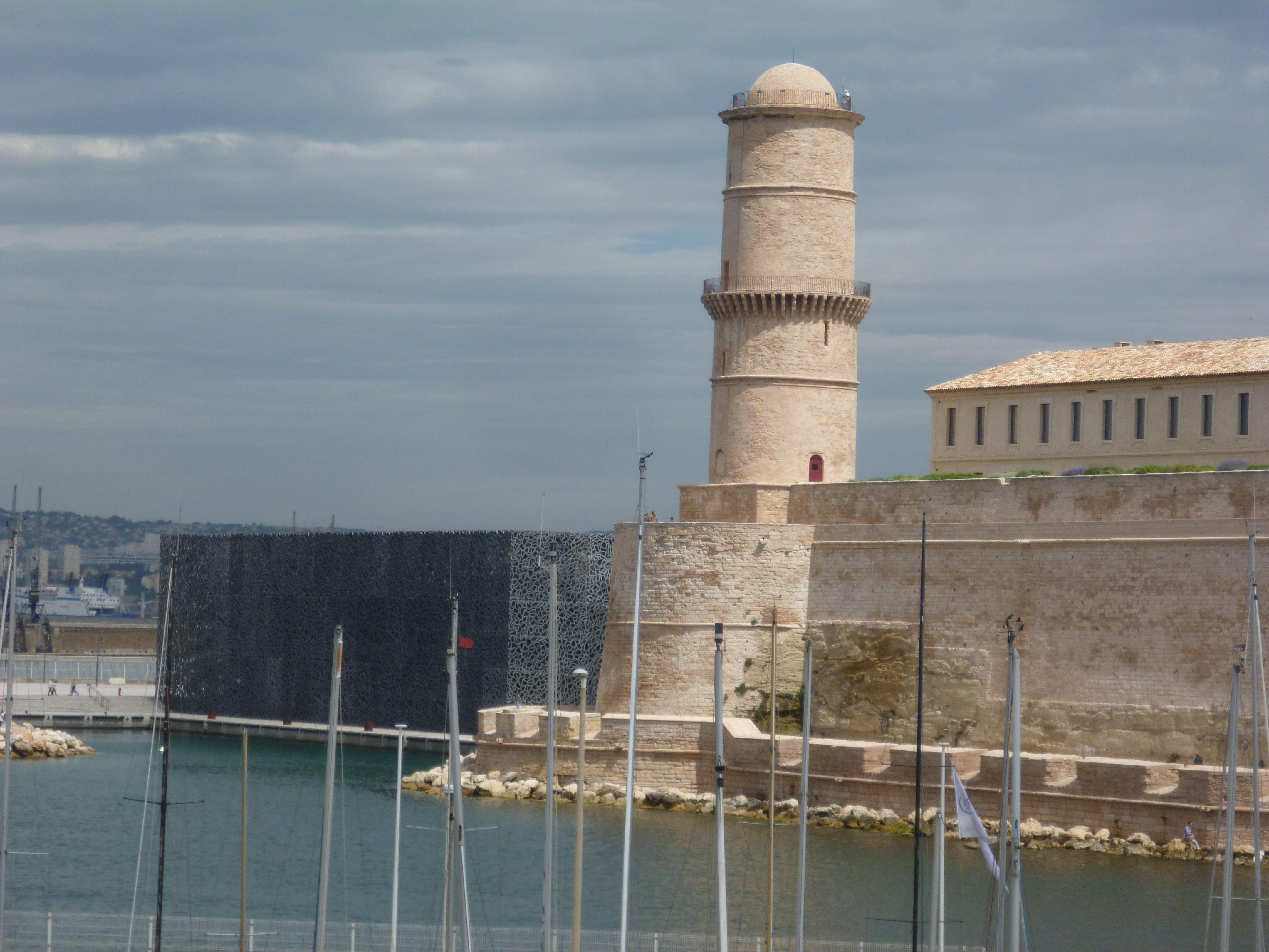 MuCem and Fort Saint-Jean