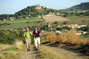 Walkers in the Livradois