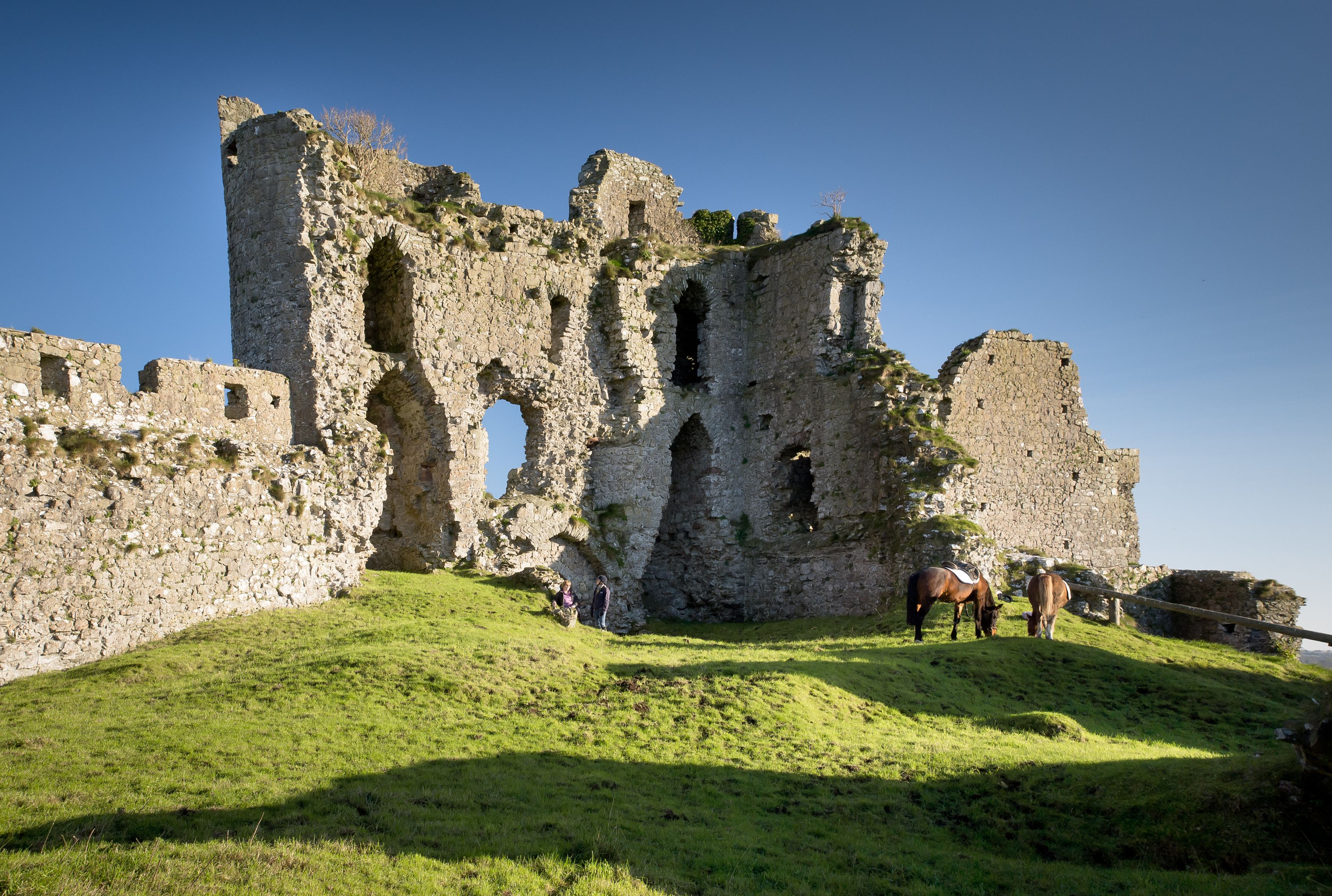 Castle Roche ruin in Dundalk, Louth, Ireland