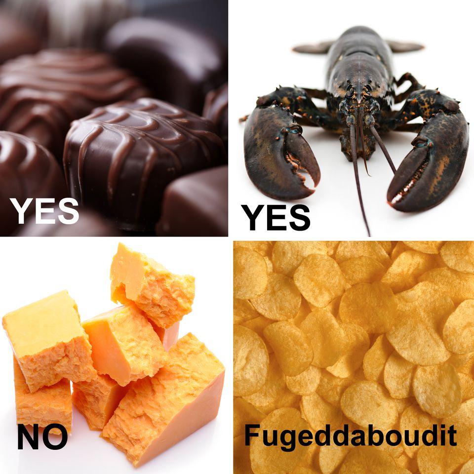 Chocolates pass the import test