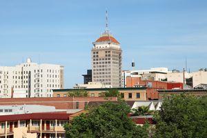 Downtown Fresno Skyline