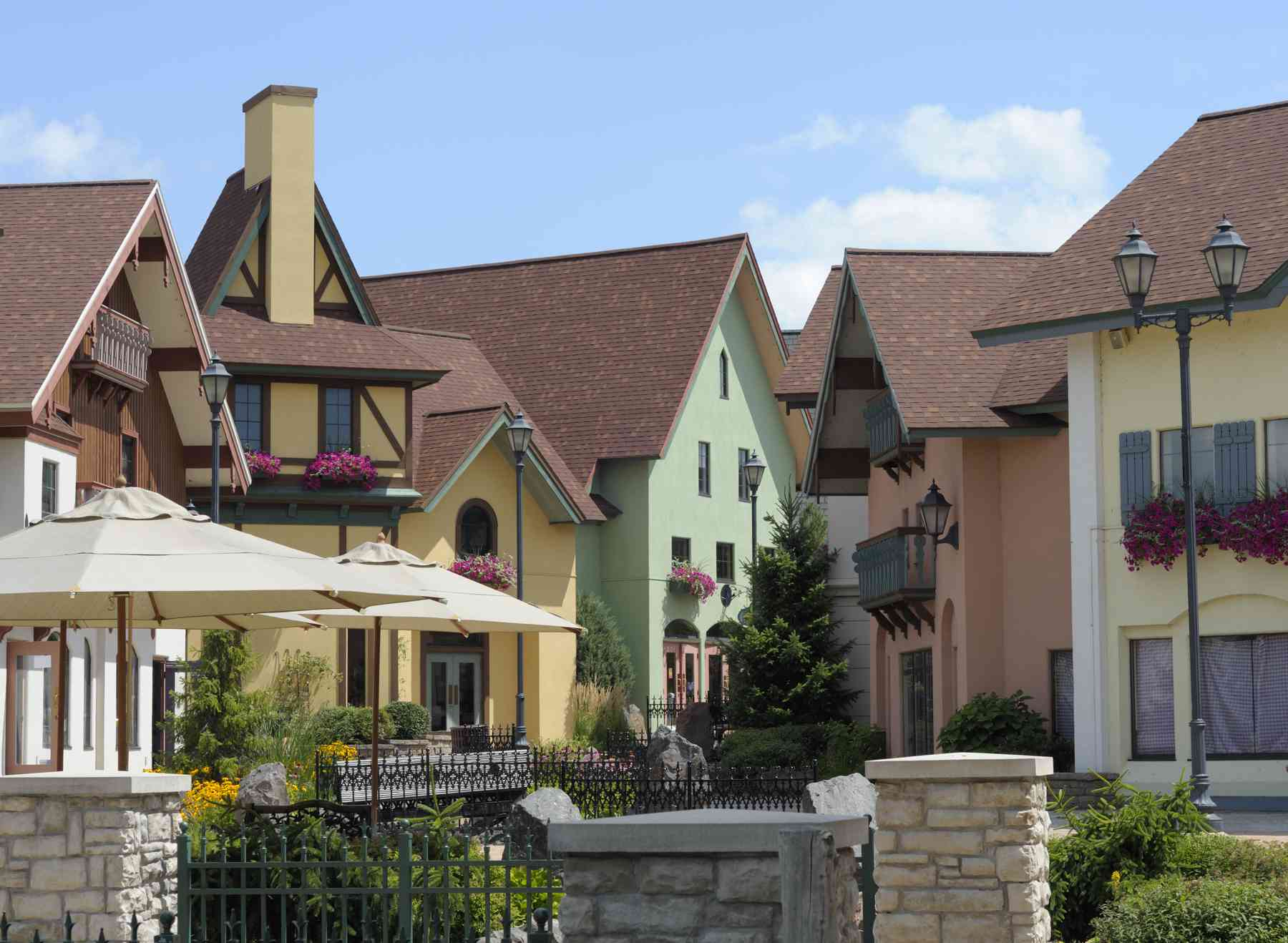 Shopping District, Frankenmuth, Michigan