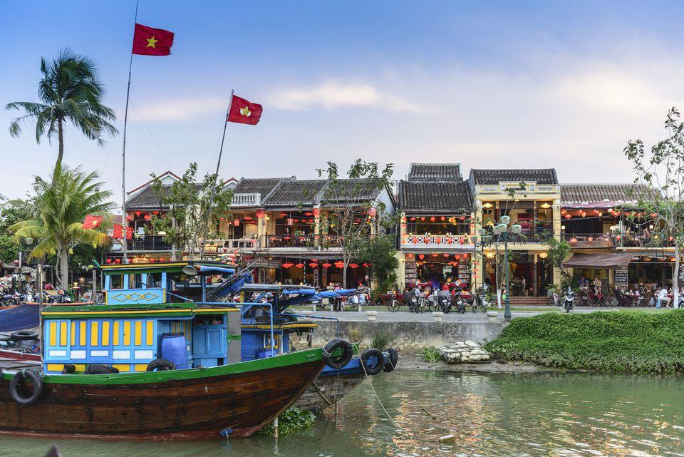 Hoi An al atardecer, Vietnam