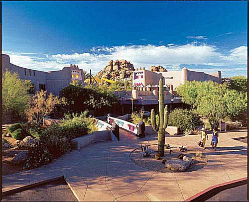 North Scottsdale Shopping Area