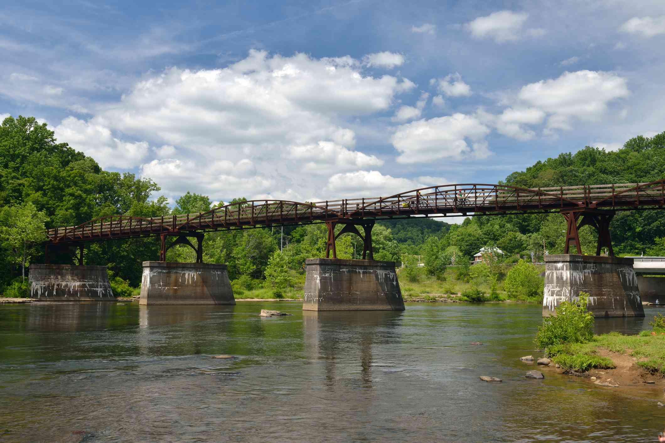 Bridge over Scenic Youghiogheny River