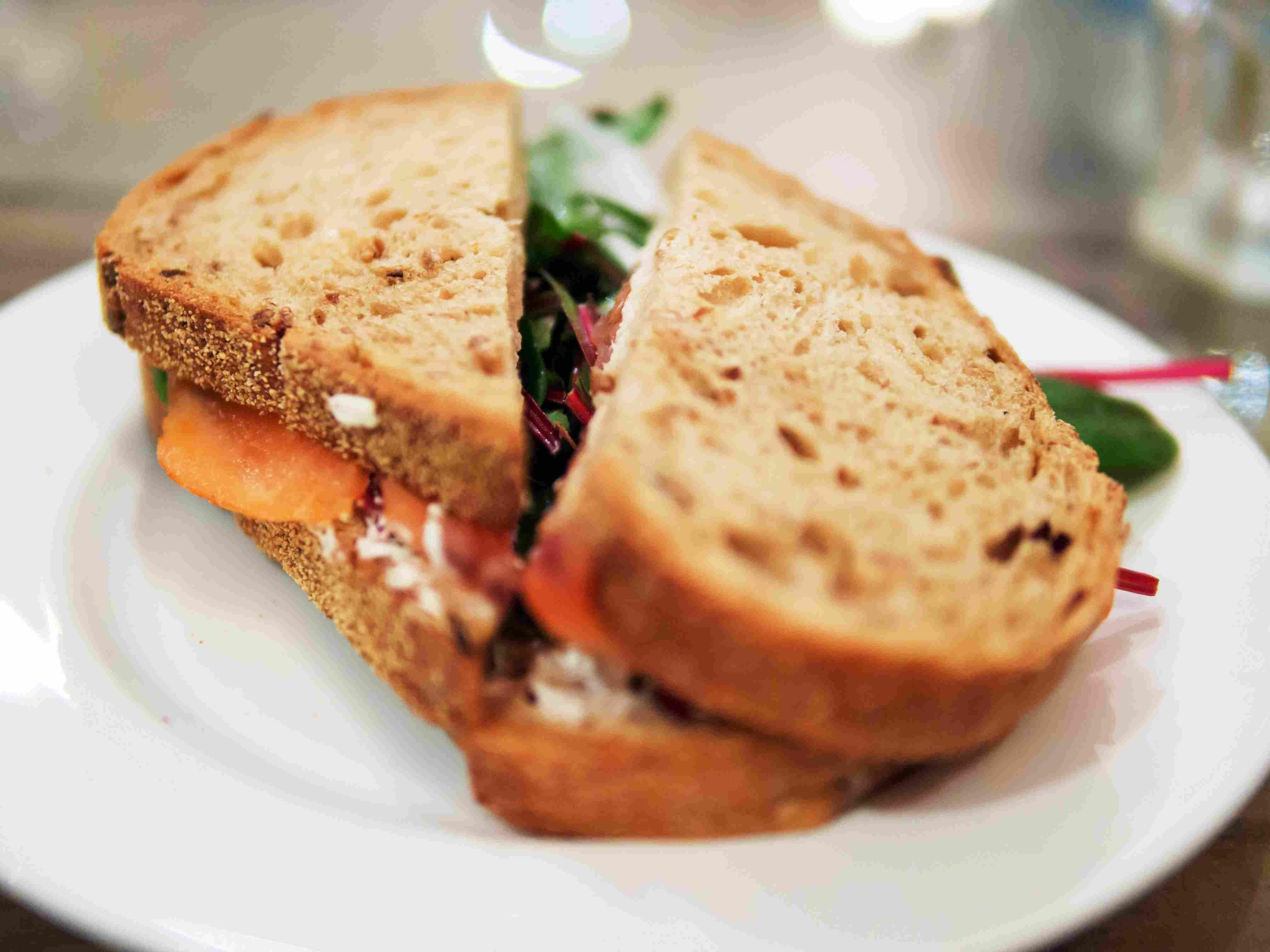 Fleet River Bakery sandwich
