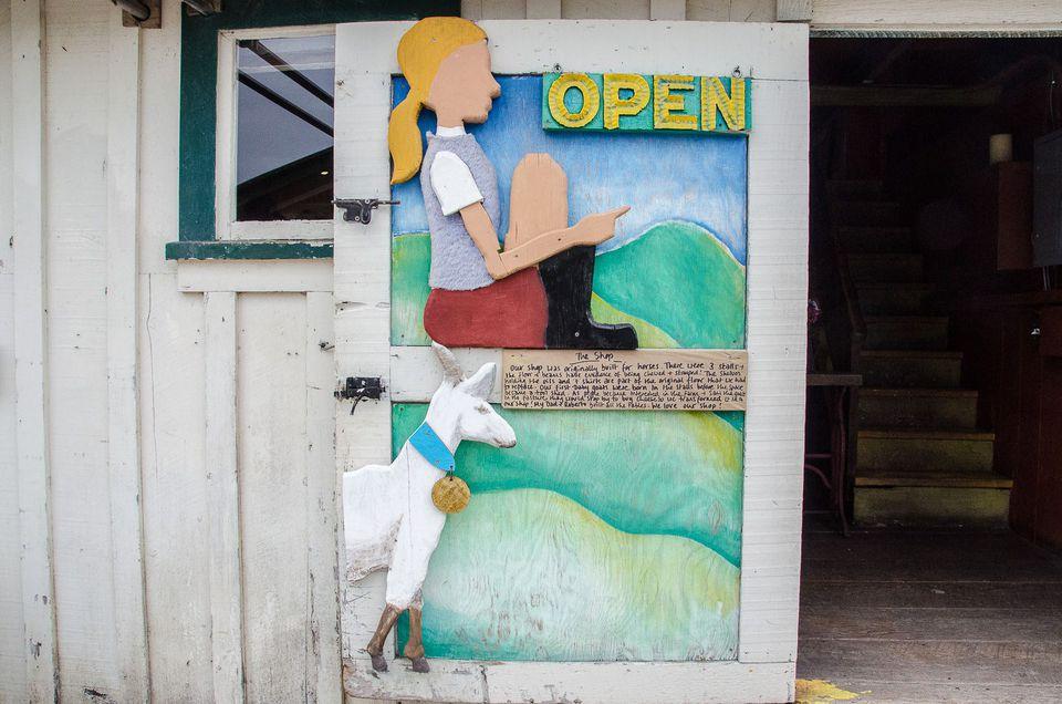 Harley Farms Goat Dairy in Pescadero, CA