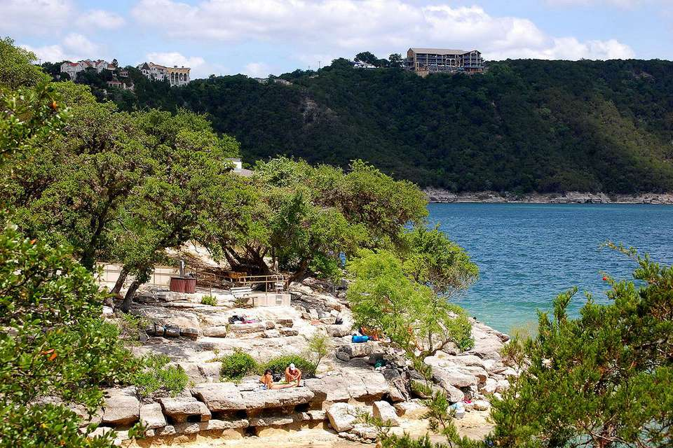 Hippie Hollow on Lake Travis