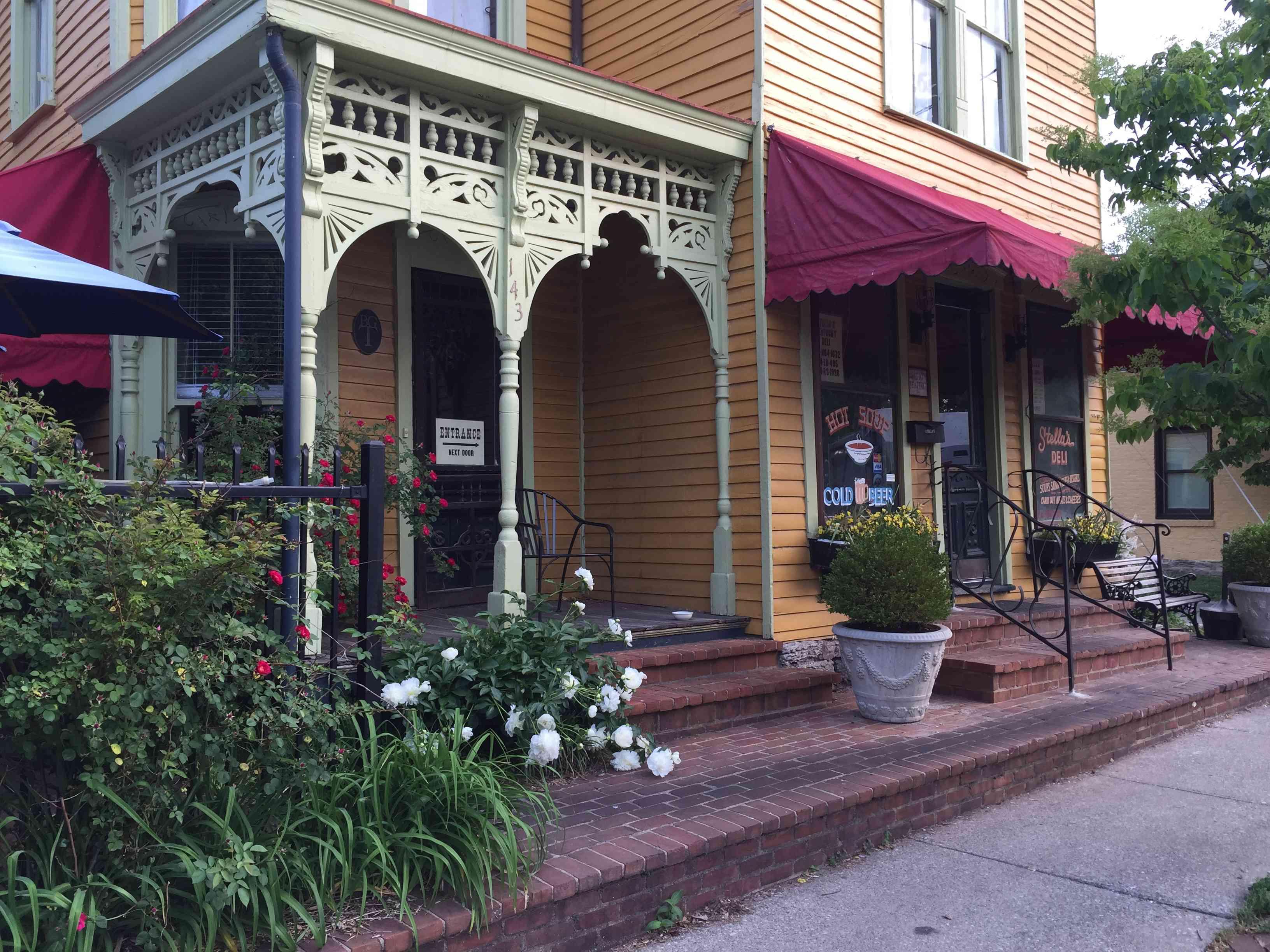 Outside of Stella's Kentucky Deli in Lexington