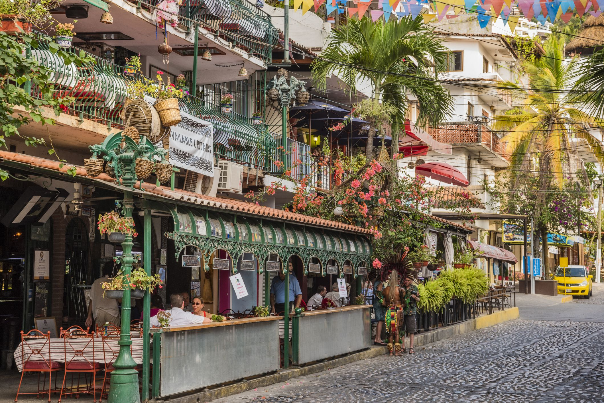 The zona romantica in Puerta Vallarta
