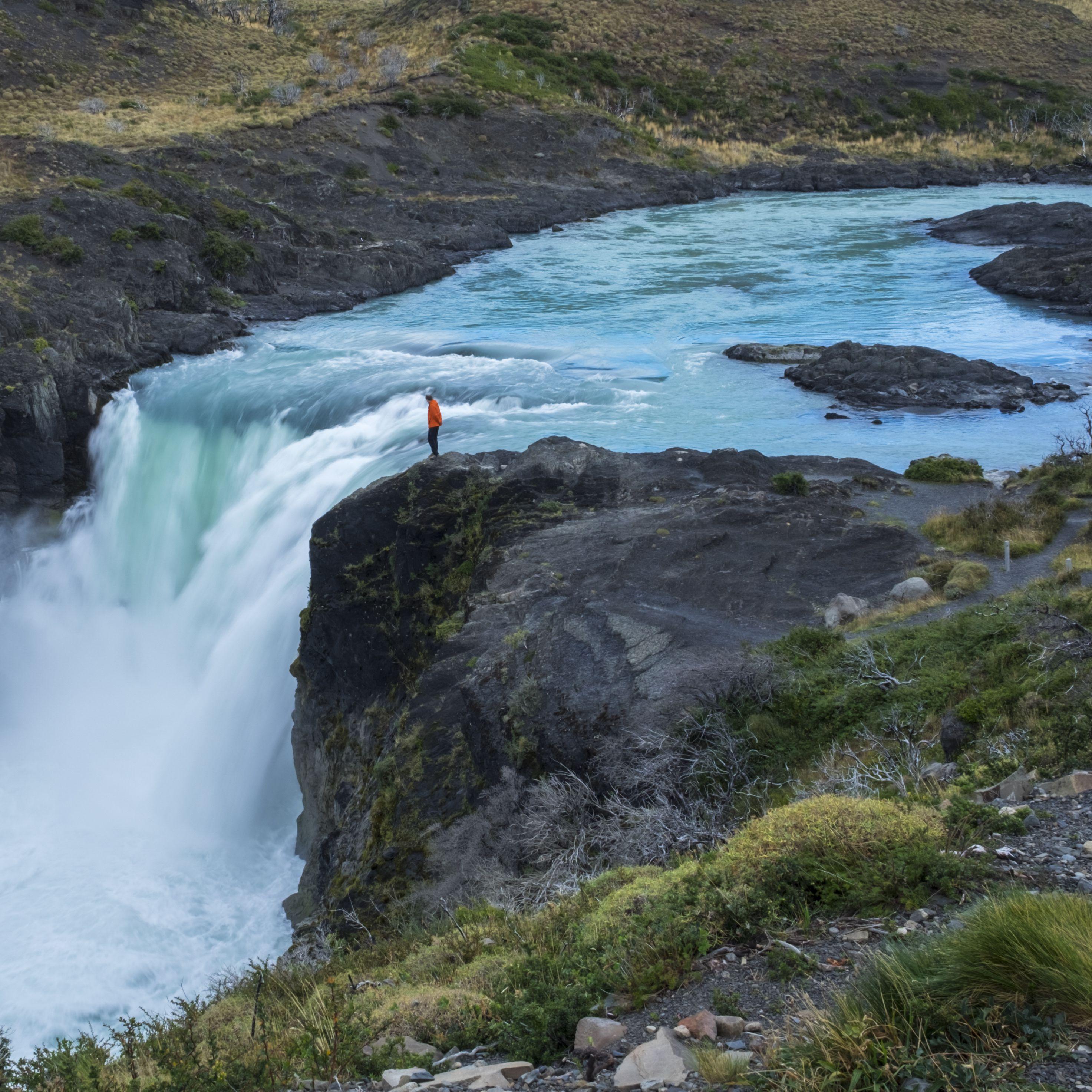 Salto Grande Waterfall in Chile
