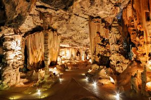 Inside the Cango Caves, South Africa