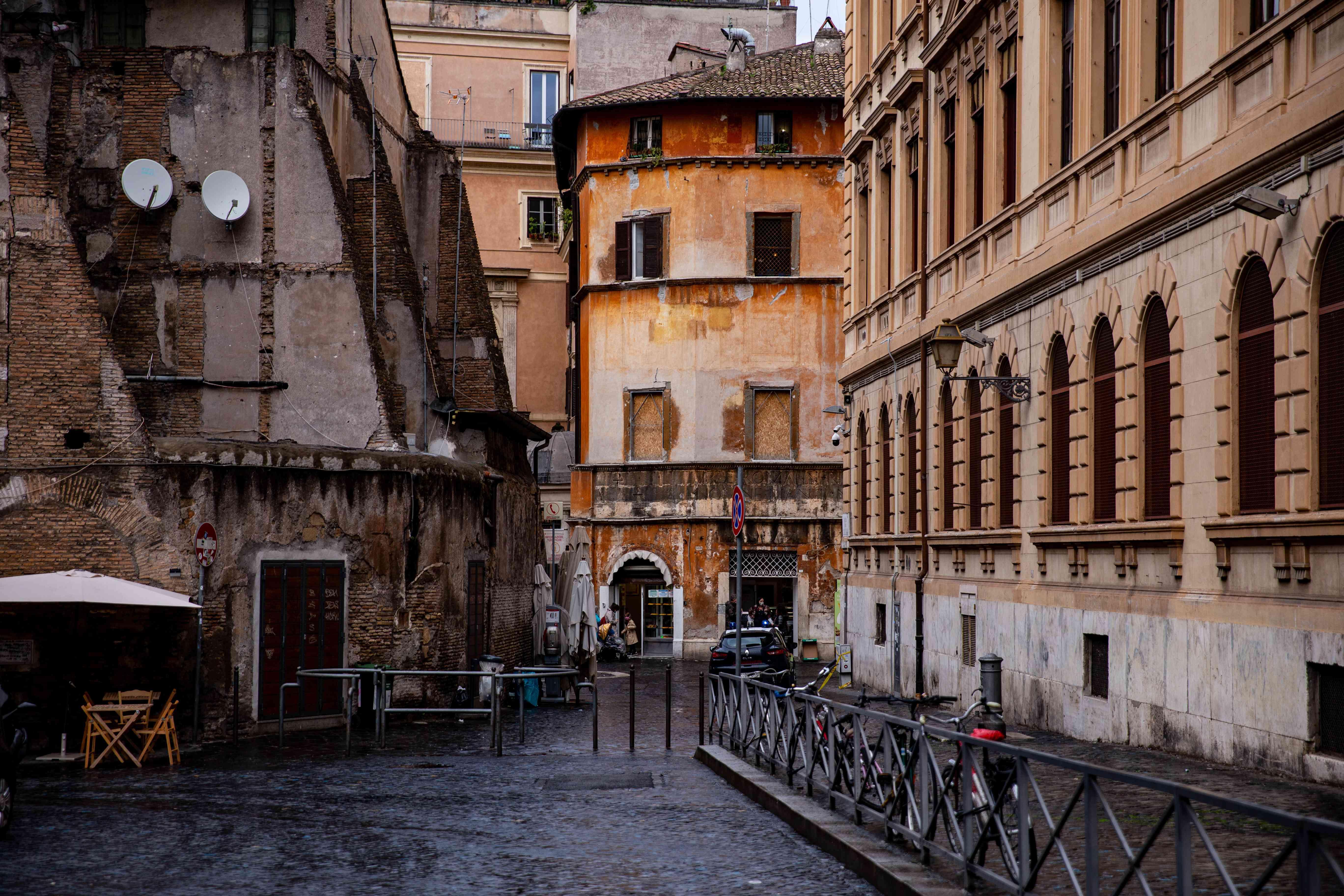 Jewish Ghetto in Rome, Italy