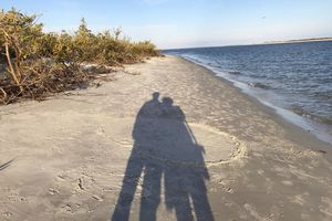 Couple on Ponce Inlet, Florida, United States