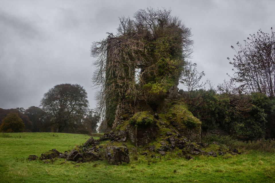 Ruin of a templar dwelling, county Sligo, Ireland
