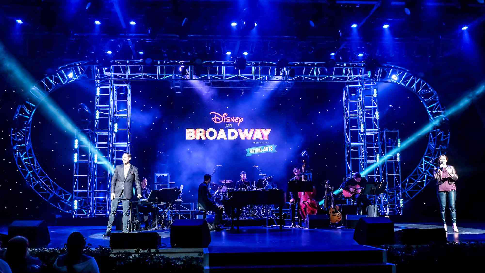 Disney on Broadway at Epcot International Festival of the Arts