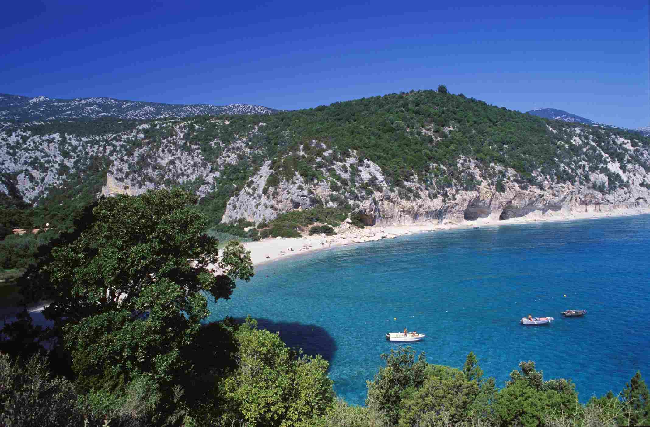 Cala Luna beach Sardinia