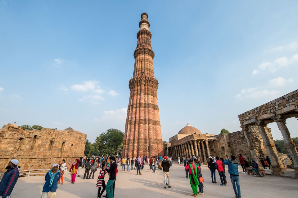 Qutub Minar and the Qutub complex