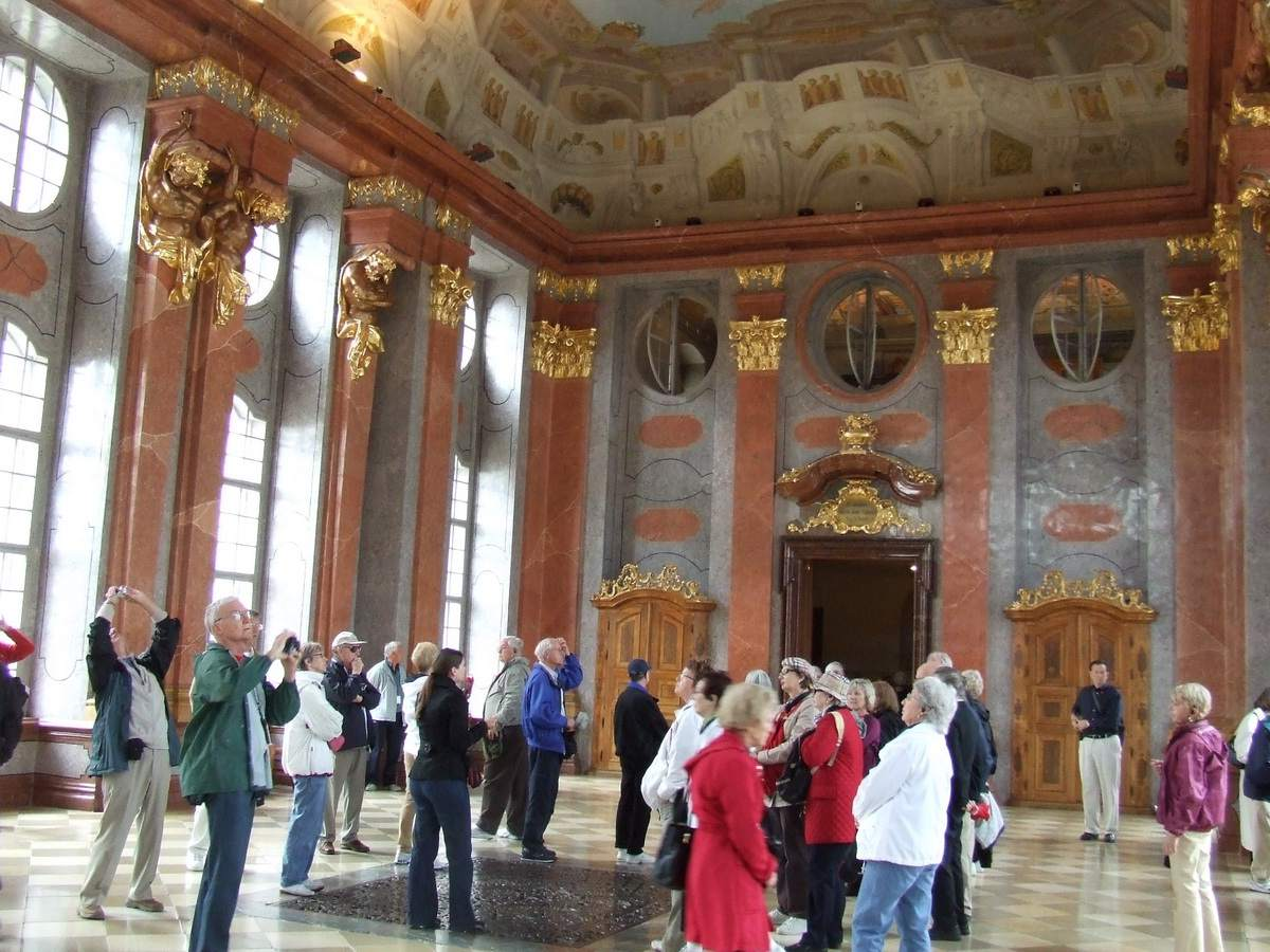 Large Reception Room at Melk Abbey