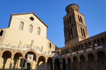 Exterior of the Salerno duomo