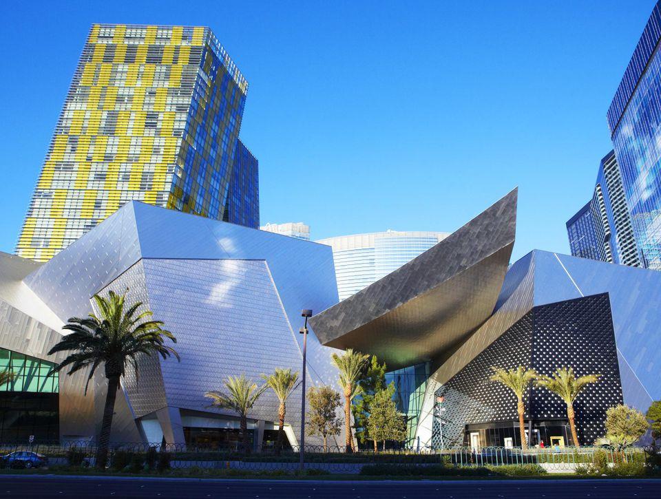 Shopping mall at south Las Vegas Boulevard