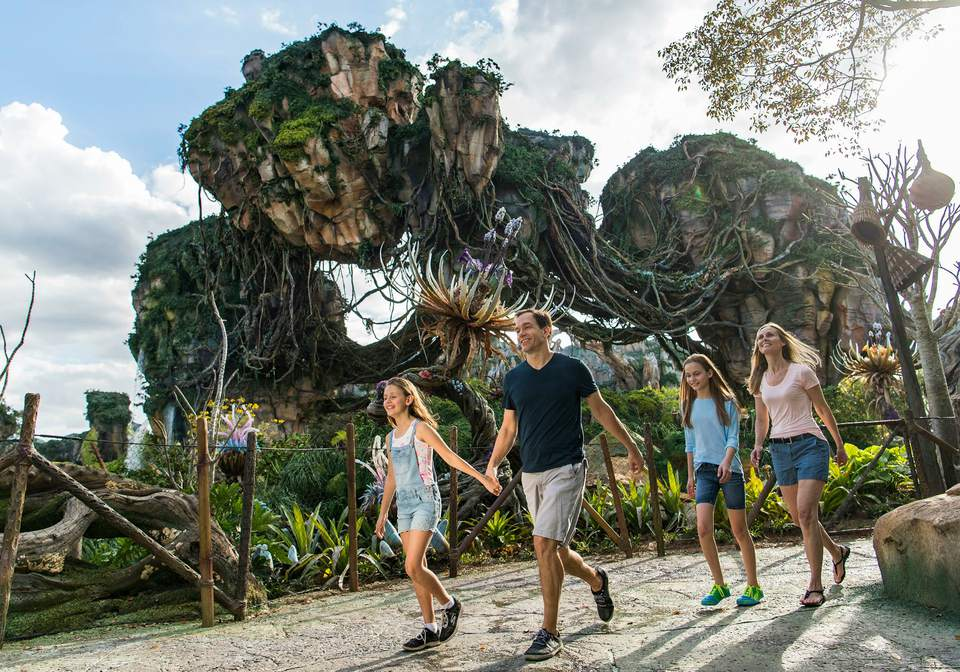 Pandora The World of Avatar at Disney's Animal Kingdom Park