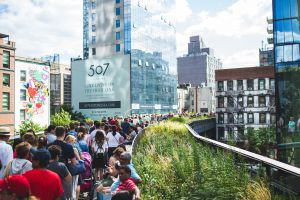 The High Line in New York City, New York
