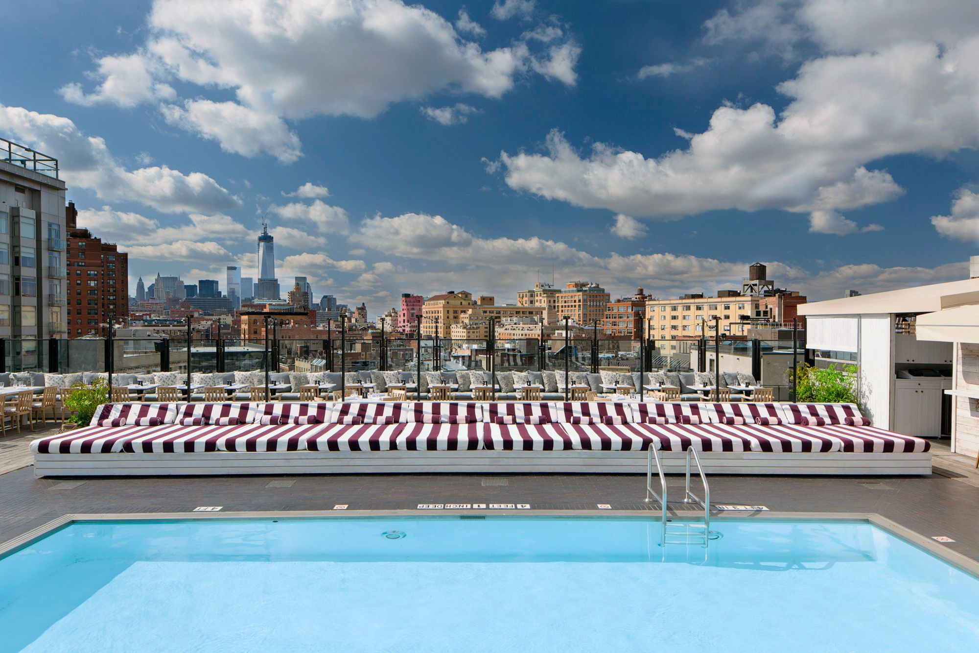 7 best hotel swimming pools in manhattan - New york hotels with swimming pools ...
