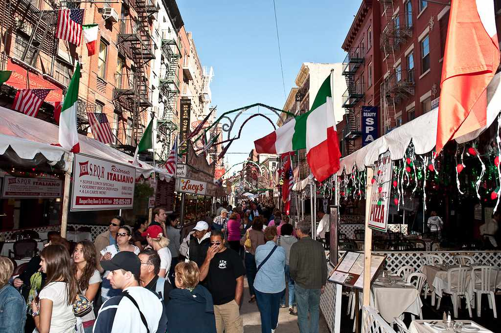 Feast of San Gennaro in Little Italy, New York